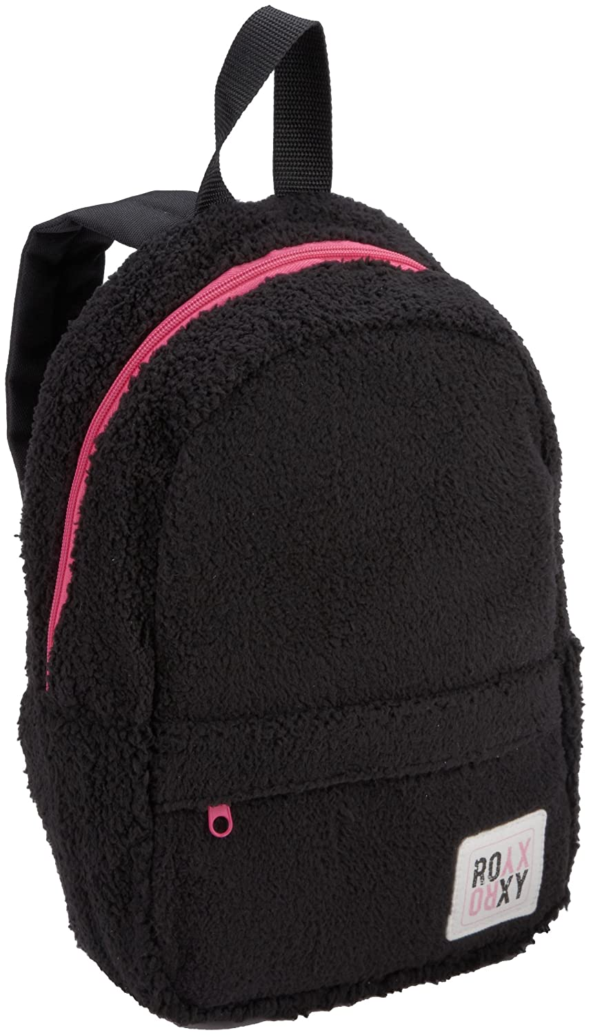 Roxy Kids Girls 7-16 Cuddle Adorable Sherpa Backpack, Black, One Size