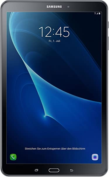 """Samsung Galaxy Tab A (2016) 4G Tablette tactile 10,1""""(25,65 cm)(16 Go, Android, 1 Prise Jack, Noir)"""
