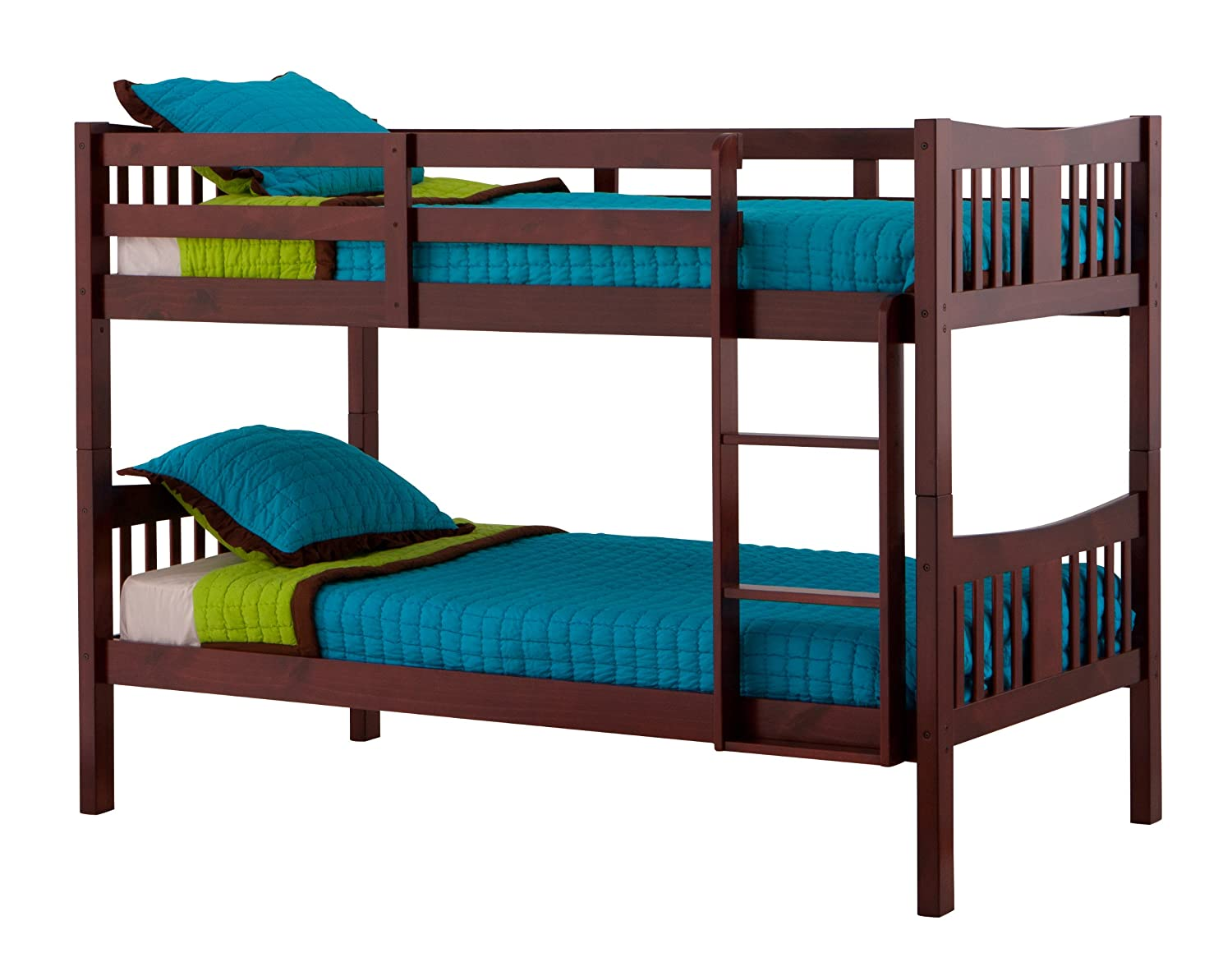 NEW Storkcraft Wood Bunk Beds converts to 2 Twin Beds ...