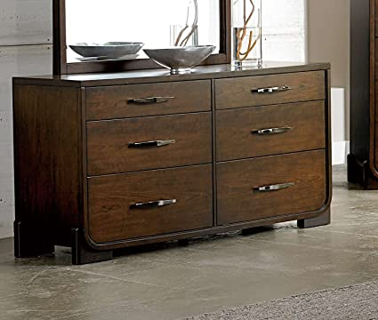 Homelegance Minato Dresser In Cherry Finish