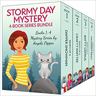 Stormy Day Mysteries: Cozy Murder Mystery Series Bundle of Books 1-4