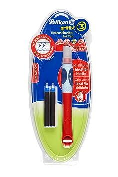 STABILO bl@ck Tintenroller medium 10er Pack rot Tintenschreiber Stifte Set
