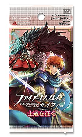 "TCG Fire Emblem 0 (Cipher) Booster Pack ""Correctly in Shido (The samurai's path / Chivalry)"" BOX"