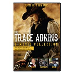 Trace Adkins Collection (Traded / Stagecoach: The Texas Jack Story / Hickok)