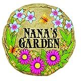 Spoontiques Nana's Garden Stepping Stone (Color: Multi, Tamaño: 1 EA)