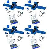Kreg Jig K5 Master System with Pocket Hole Screw Kit (5-Sizes) - 4 Pack (Tamaño: 4 Pack)