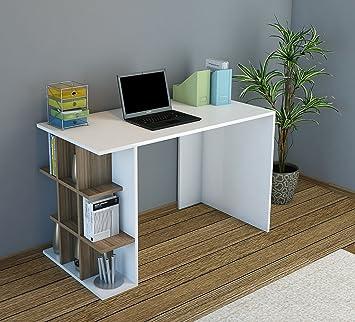 Plus escritorio-Ordenador Mesa-Mesa de oficina con estantería Element