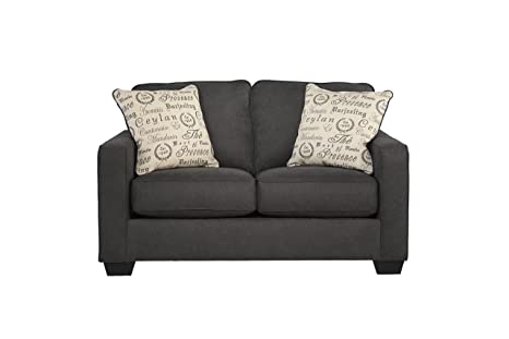 Alenya Vintage CasualBrown Fabric Loveseat