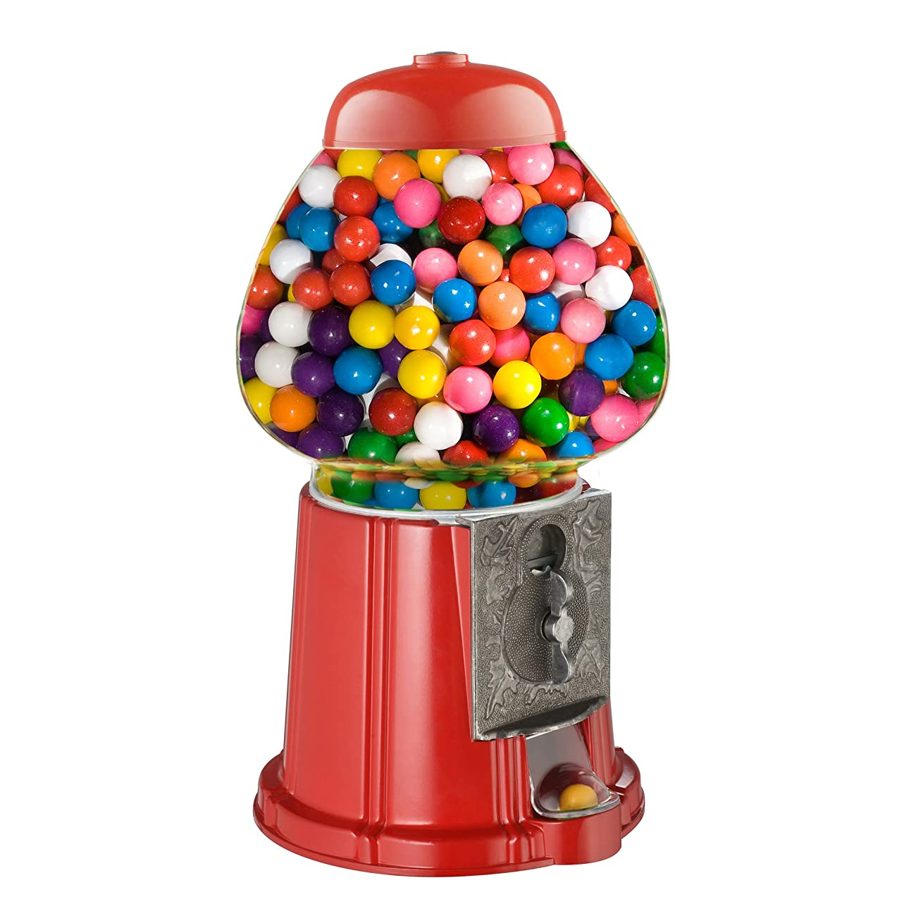 Great Northern 15-Inch Vintage Candy Gumball Machine and Bank with Stand, Everyone Loves Gumballs 1