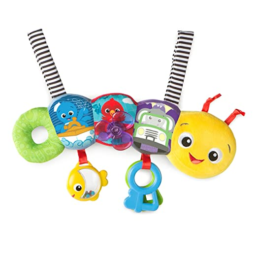 Baby Einstein 11155 Barre d'Activités - Travel-Pillar Discovery Toy Bar