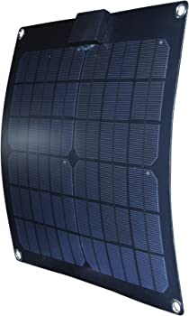 Nature Power 15W Semi-Flex Monocrystalline Solar Panel