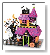 Giant Haunted House Halloween Foam Activity