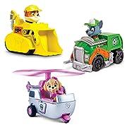 Paw Patrol Racers 3-Pack Vehicle Set Rubble/Rocky/Skye
