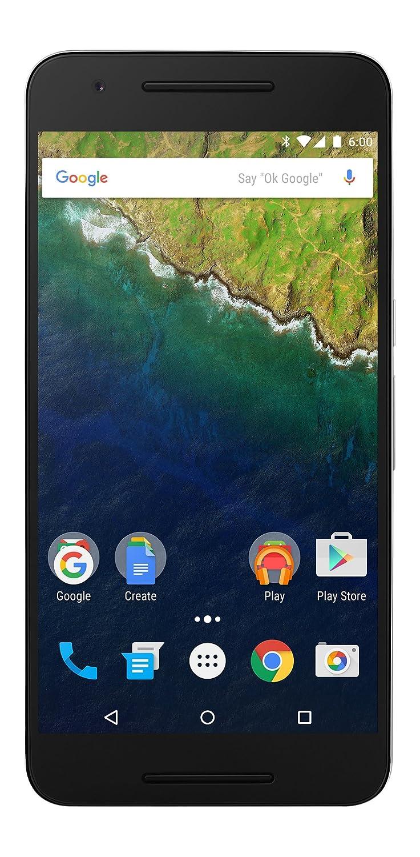 Huawei Nexus 6P - 64 GB Aluminum (U.S. Version: Nin-A12) - Unlocked 5.7-inch Android 6.0 smartphone w/ 4G LTE (U.S. Warranty)