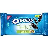 Oreo Thins Pistachio Creme Chocolate Sandwich Cookies, 10.1 Oz