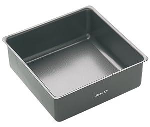 Kitchen Craft Master Class - Molde cuadrado (superficie antiadherente, 30 cm)   Más información y revisión del cliente