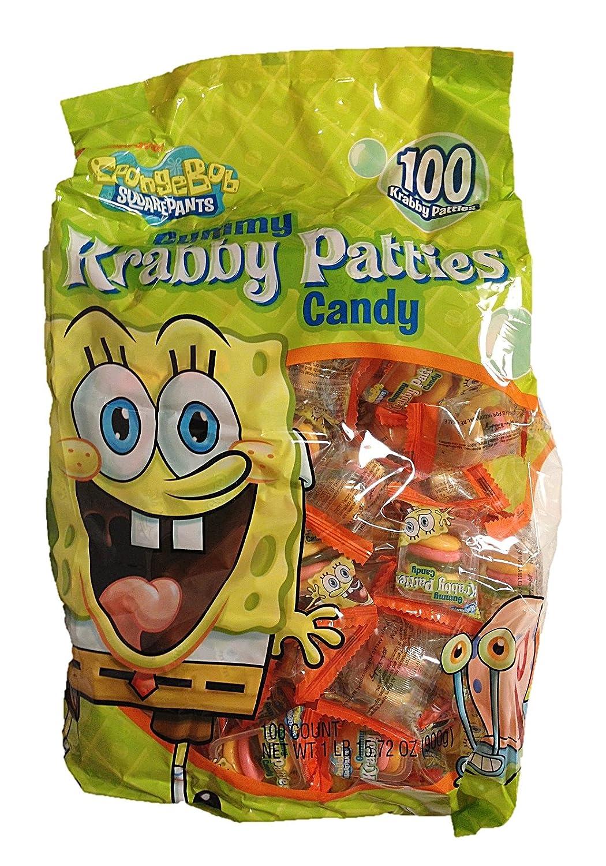 Sponge Bob Square Pants Krabby Patties 100 Piece Value Bag