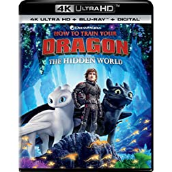 How To Train Your Dragon: The Hidden World [4K Ultra HD + Blu-ray]