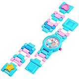 LEGO Watches and Clocks Girl's Quartz Plastic Watch, Color:Blue (Model: 8021254)