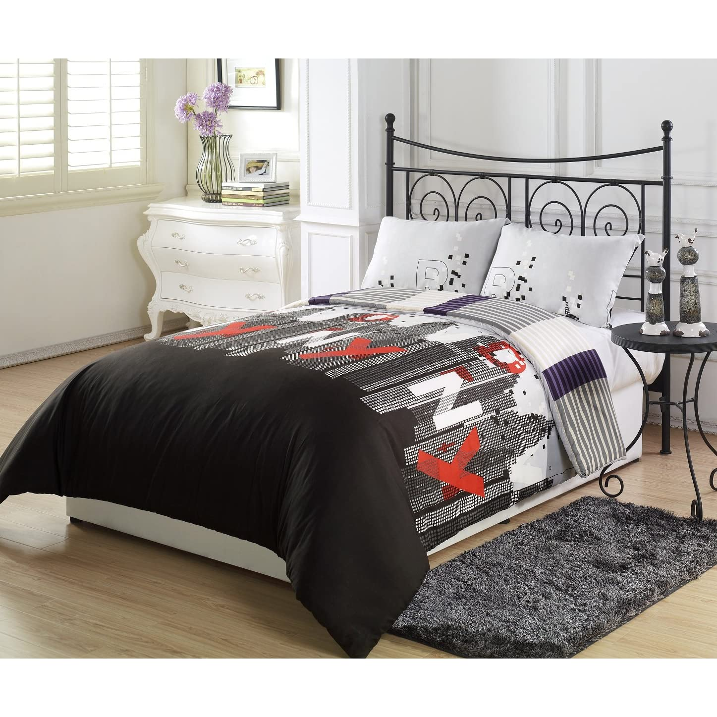 Bedding new york city images frompo 1 for City themed bedroom accessories