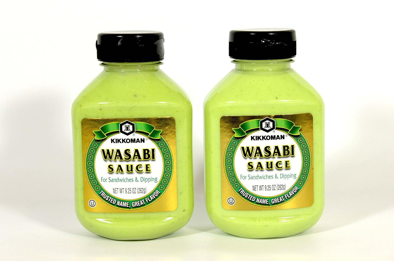 Wasabi Hot Sauce Kikkoman Wasabi Sauce 9.25oz