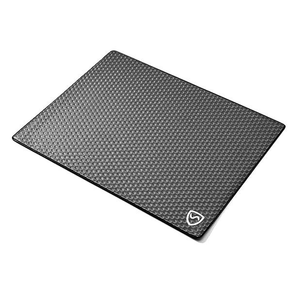 SYB Laptop Pad, EMF Radiation Protection, Cooling RF Blocker Shield (Color: Midnight Microwave, Tamaño: 14)