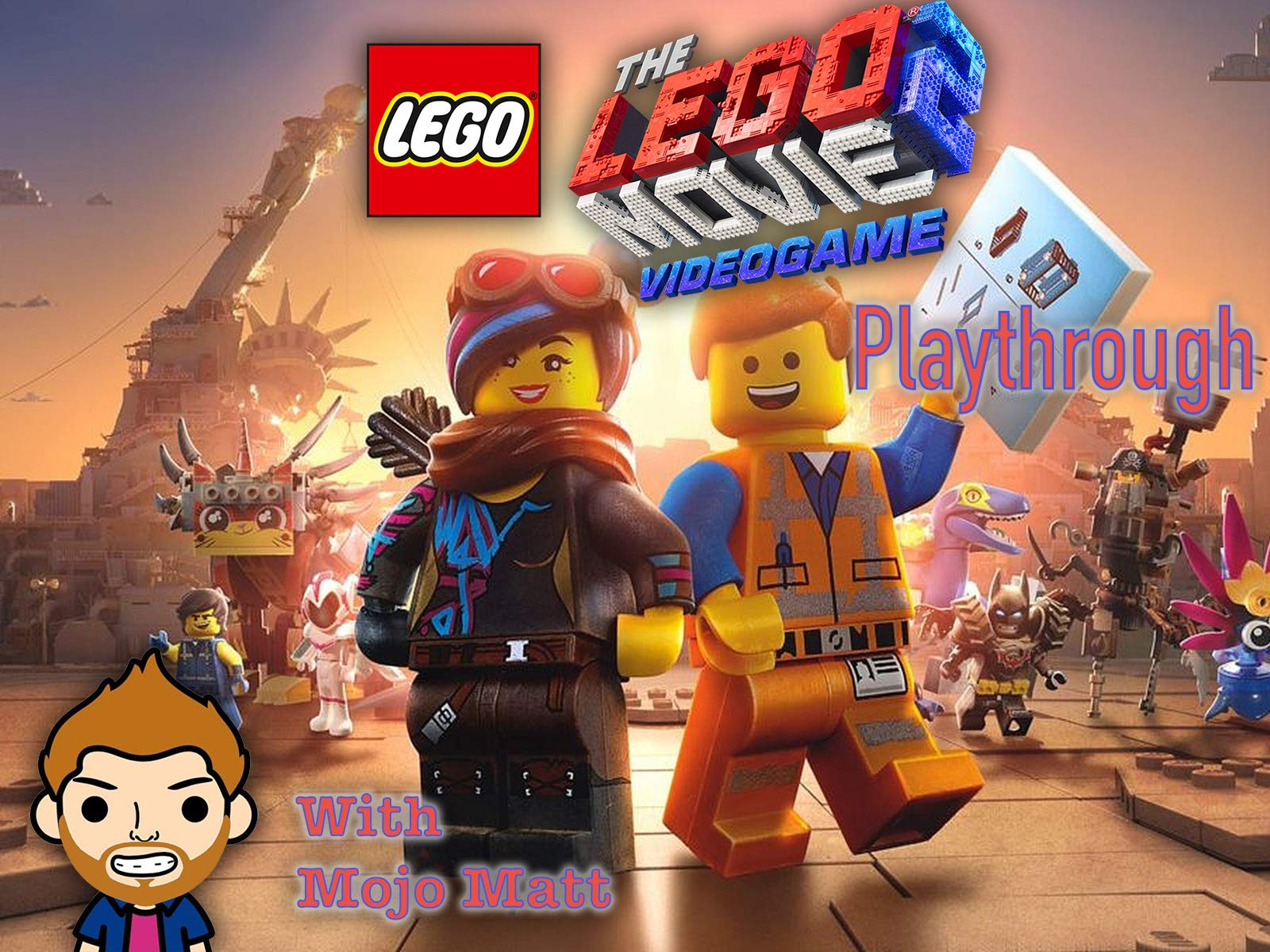 The Lego Movie 2 Video Game Playthrough With Mojo Matt on Amazon Prime Instant Video UK