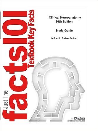 e-Study Guide for Clinical Neuroanatomy, textbook by Stephen Waxman: Medicine, Internal medicine