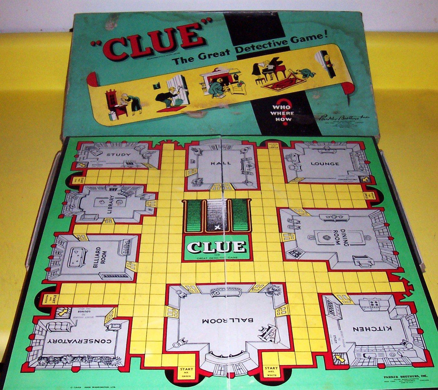 Clue Antiques