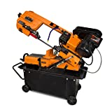 WEN 39707 7-inch x 12-inch Metal-Cutting Band Saw with Stand