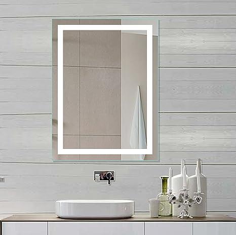 Lighted LED vanity Mirror Harmony 24 X 32 In