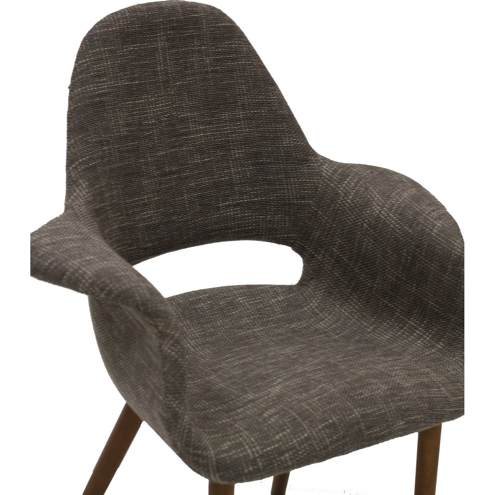 Lexmod Veer Taupe Accent Chair Furniturendecor Com