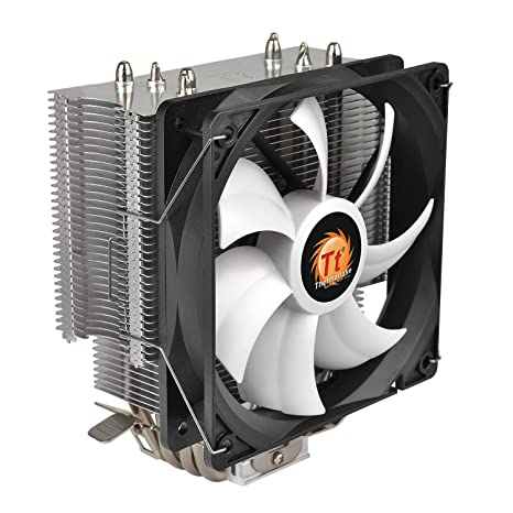 Thermaltake CL-P039-AL12BL-A Contac Silent 150W INTEL AMD with AM4 Support 120mm PWM CPU Cooler at amazon