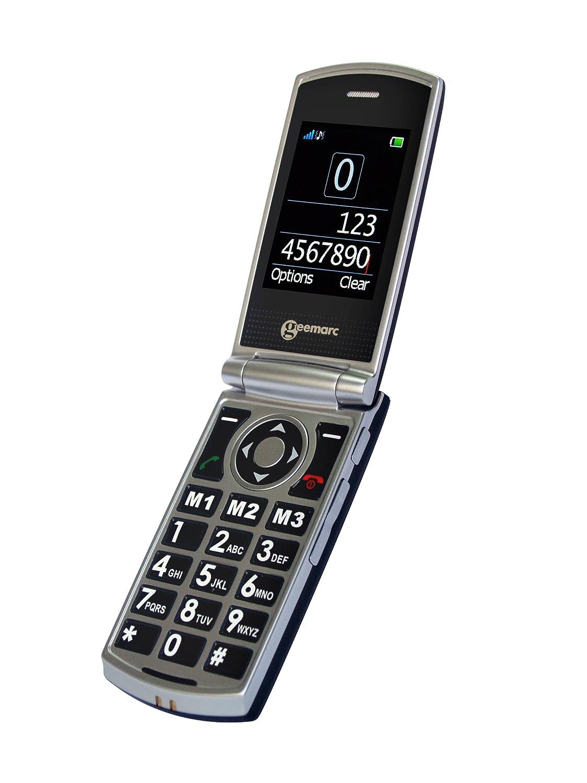 T�l�phone GSM GEEMARC CL8450 GRIS NOIR