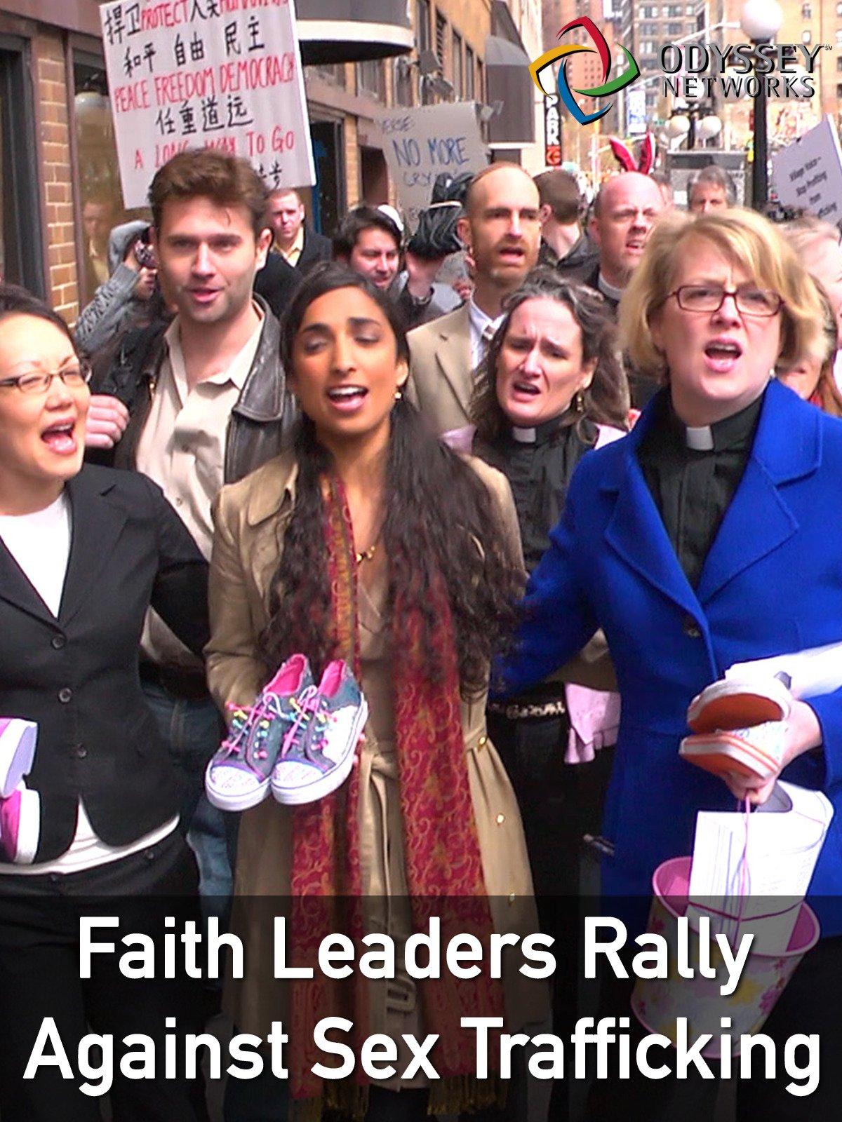 Clip: Faith Leaders Rally Against Sex-Trafficking