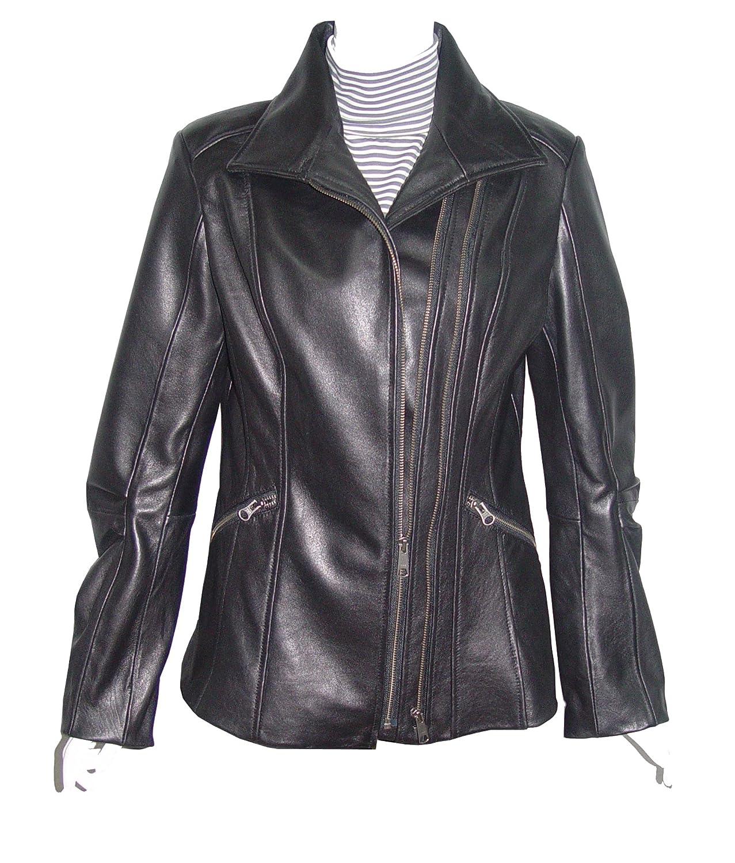 Nettailor WoHerren 4196 weich Leder l?ssig JackeDoppelt Rei?verschluss Front Rei?verschlussped Tasche jetzt kaufen