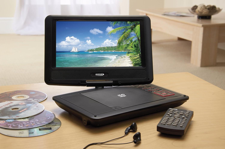 bnib zennox 9 12v portable tv dvd combi player with. Black Bedroom Furniture Sets. Home Design Ideas