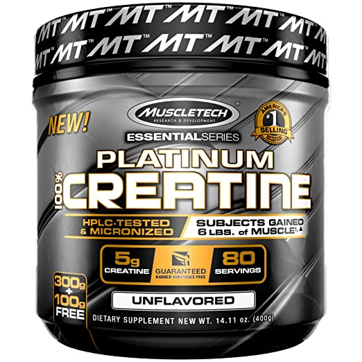 Muscle Tech Platinum 100% Creatine Powder