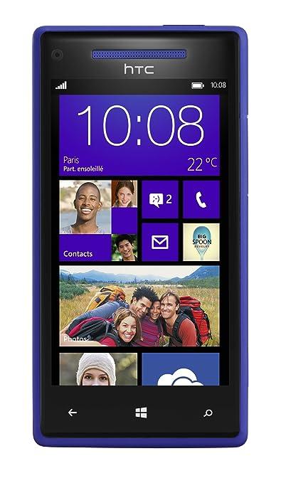 HTC Windows Phone 8X Smartphone débloqué Écran tactile 4,3'' (10,9 cm) Android Bluetooth 16 Go Bleu
