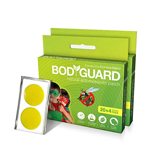 Bodyguard Premium Natural Mosquito Repellent Patches - 40 + 8 Patches