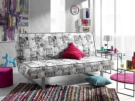 Sofa Peggy mit Bettfunktion Schlaffunktion Garnitur Wohnlandschaft Couch 01644 (Farbe wie abgebildet)