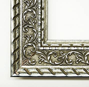 Wall Mirror – Chateau Silver 5.7 – Dimensions of the Mirror Glass 90 x 140 – Real Wood