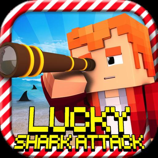 lucky-shark-attack-lucky-block-survival-mini-game