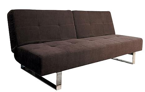 Acme 57002 Shanie Adjustable Sofa, Dark Brown