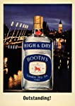 Print advertisement for Booth's High & Dry London Dry Gin