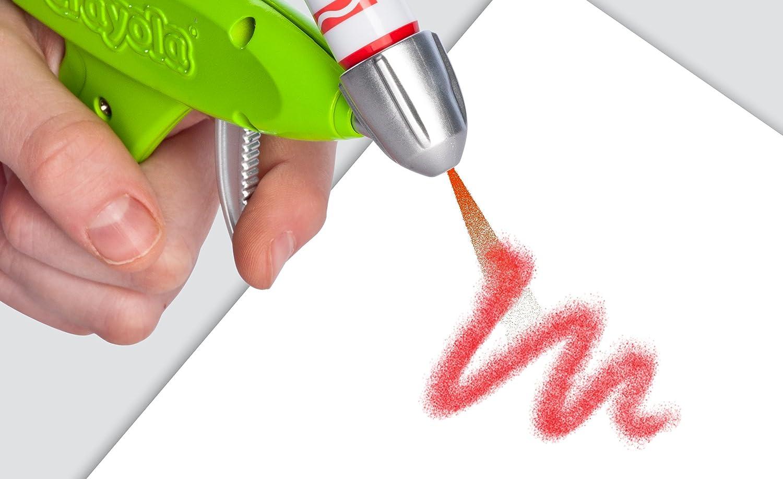 Crayola marker airbrush set 04 8727 new free for Aerografo crayola amazon