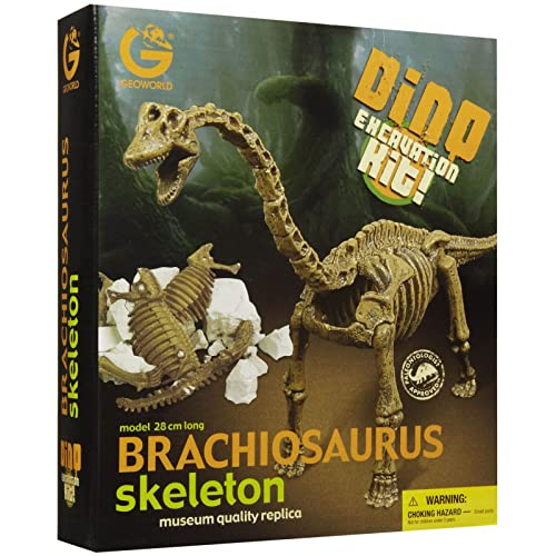 Geoworld Dino Excavation Kit - Brachiosaurus Skeleton