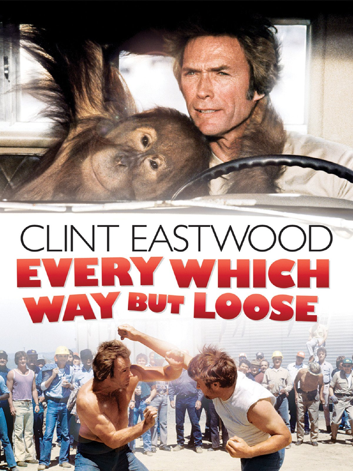 Every Which Way But Loose on Amazon Prime Video UK