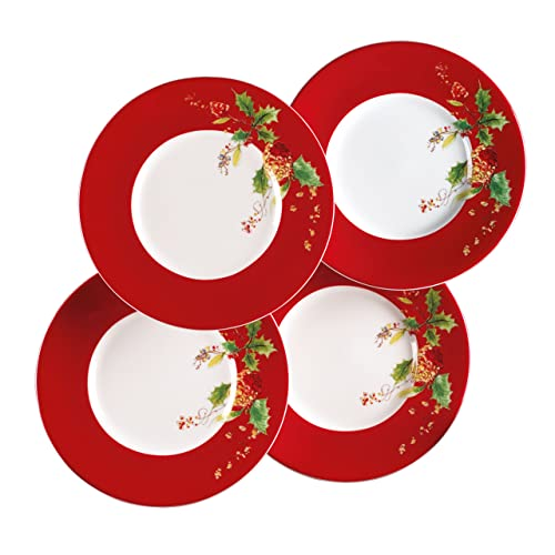 ... Lenox Winter Song Dessert Plates Set of 4  sc 1 st  Christmas Gift Ideas 2016 & Christmas Holiday Melamine Plates - Christmas Gifts by Design