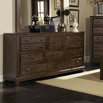 Coaster Home Furnishings 201075R Rustic Dresser, Cocoa Brown